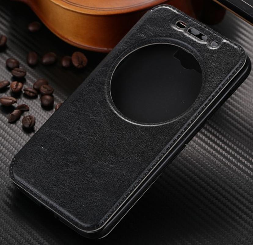Inteligente Premium funda de piel para Asus Zenfone Max ZC550KL Z010DA/Selfie ZD551klZ00UD/2 láser ZE500K Z00U/ZE550KL Z00LD/