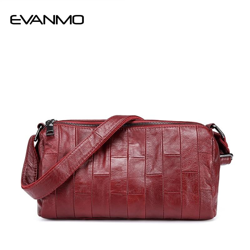 حقيبة كتف من الجلد الطبيعي الناعم للنساء ، حقيبة كتف يومية للسيدات ، حقيبة يد من جلد البقر عالية الجودة