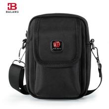 BALANG Brand Multifunction Oxford Waterproof Nylon Mini Men Messenger Bag Casual Waist High Quality Pack Cross Body Bags