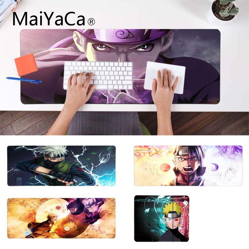 Alfombrilla de ratón MaiYaCa para Naruto anime, alfombrilla grande para ratón, alfombrilla para ordenador PC, alfombrilla para ratón para juegos de ratones Gaming para portátil
