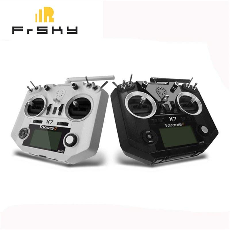 FrSky ACCST Taranis Q X7 2,4G 16CH Modo 2 transmisor mando a distancia blanco negro versión internacional para FrSky X/D/ V8-II