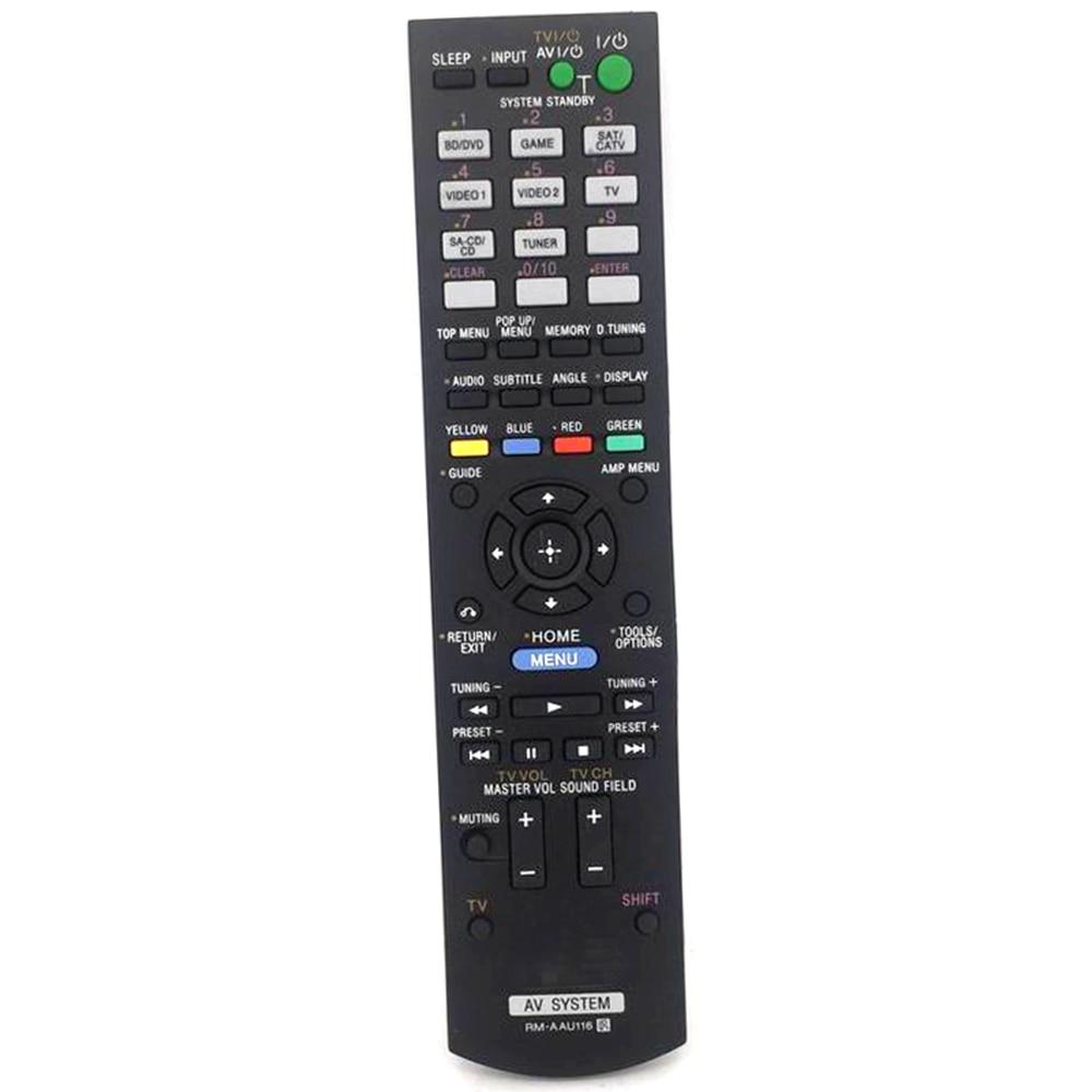 New Generic Remote Control RM-AAU116 For Sony RM-AAU104 STR-KS380 RM-AAU073 AV недорого