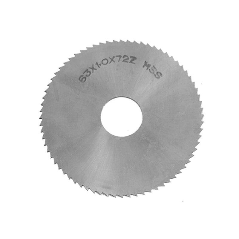 "Cortador de sierra de corte longitudinal redondo de acero 72T HSS de 2,5 ""de diámetro"