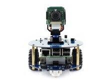AlphaBot2 robot building kit for Raspberry Pi 3 Model B+,RPi Camera (B)+Micro SD Card card+15 Acc