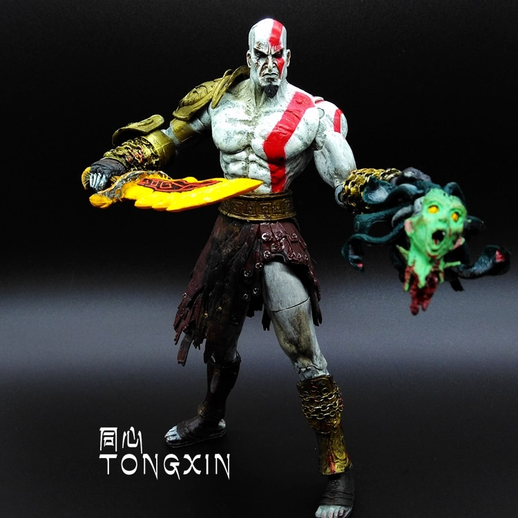 9inch God Of War 2 Kratos Kratos Blade Knife Action Doll Model Decoration Gift Neca Jacket Sport Jacket Cloakjacket Nylon Aliexpress