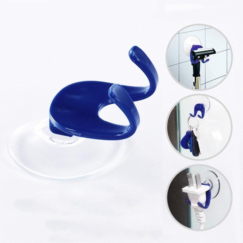 Estante para maquinilla de afeitar soporte de baño afeitadora supersucción adhesivo para taza de almacenamiento montaje en pared