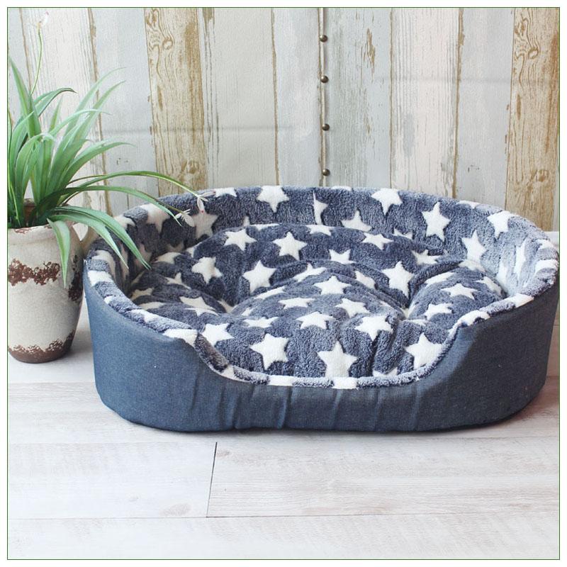 Luxury Pet Kennel House Warm Large Dog Bed Cat Cushion Mat Sofa for Big Dogs Cama Para Cachorro Puppy Teddy  Sofa S M L XL Size