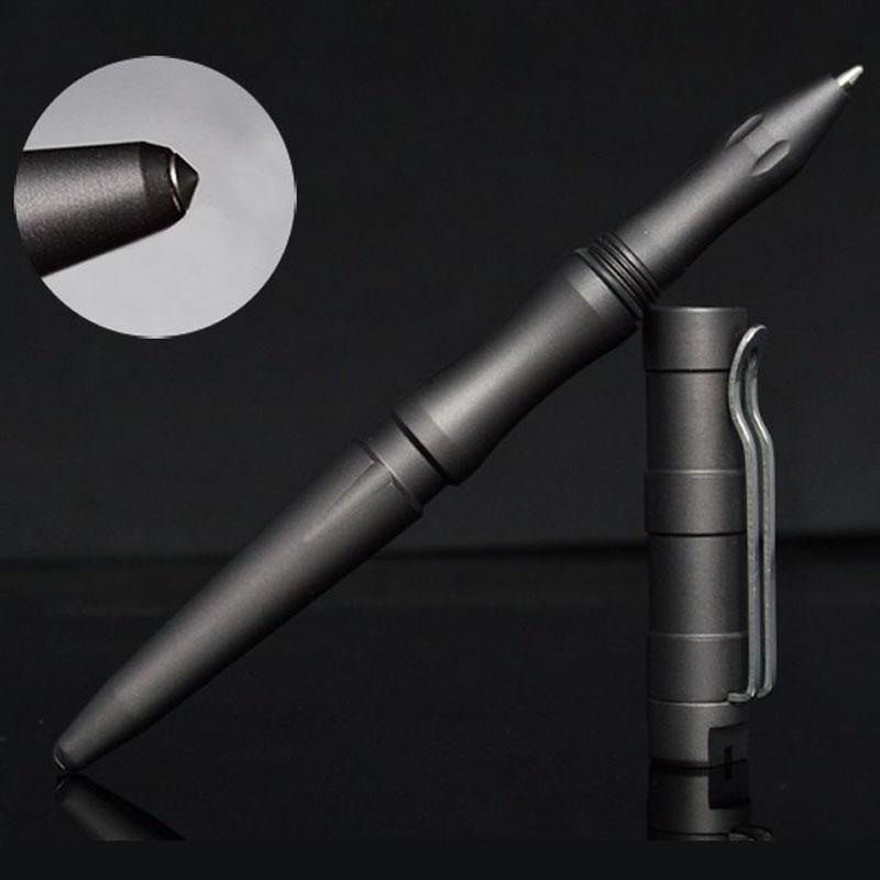 Бесплатная доставка Новый стиль самообороны Личная безопасность тактическая ручка карандаш с функцией письма Вольфрамовая стальная голов...