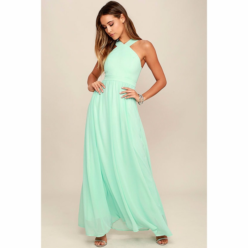 Vestido de verano 2019 mujeres Vintage Casual elegante bohemio vestidos de fiesta sin mangas Maxi Prom ceñido al cuerpo vestido veraniego largo de talla grande