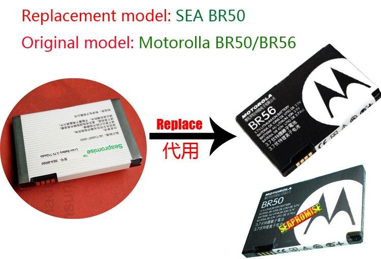 retail battery BR50 (BR56) for Motorola Flip P,Lifestyle 285,PEBL U6,Prolife 300,Prolife 500,Razr BLK,Razr v3/v3a