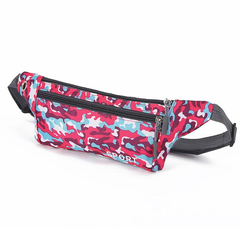 Waterproof Running Belt Bum Waist Pouch Fanny Pack Camping Sport Hiking Camo Bag