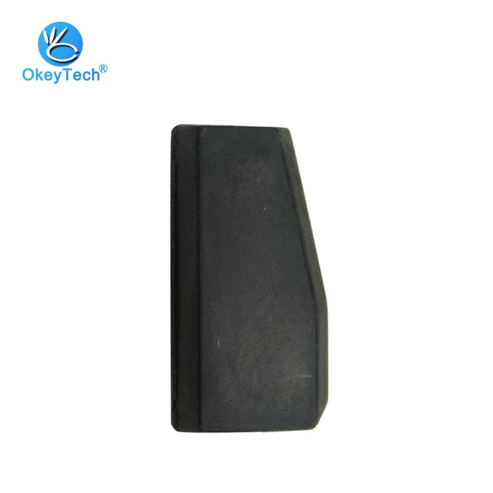 OkeyTech 1 Piece T5 Car Key Chip Transponder Carbon Blank Ceramic ID20 For Fiat Benz Honda Copy to ID 11 12 13 33 Chip
