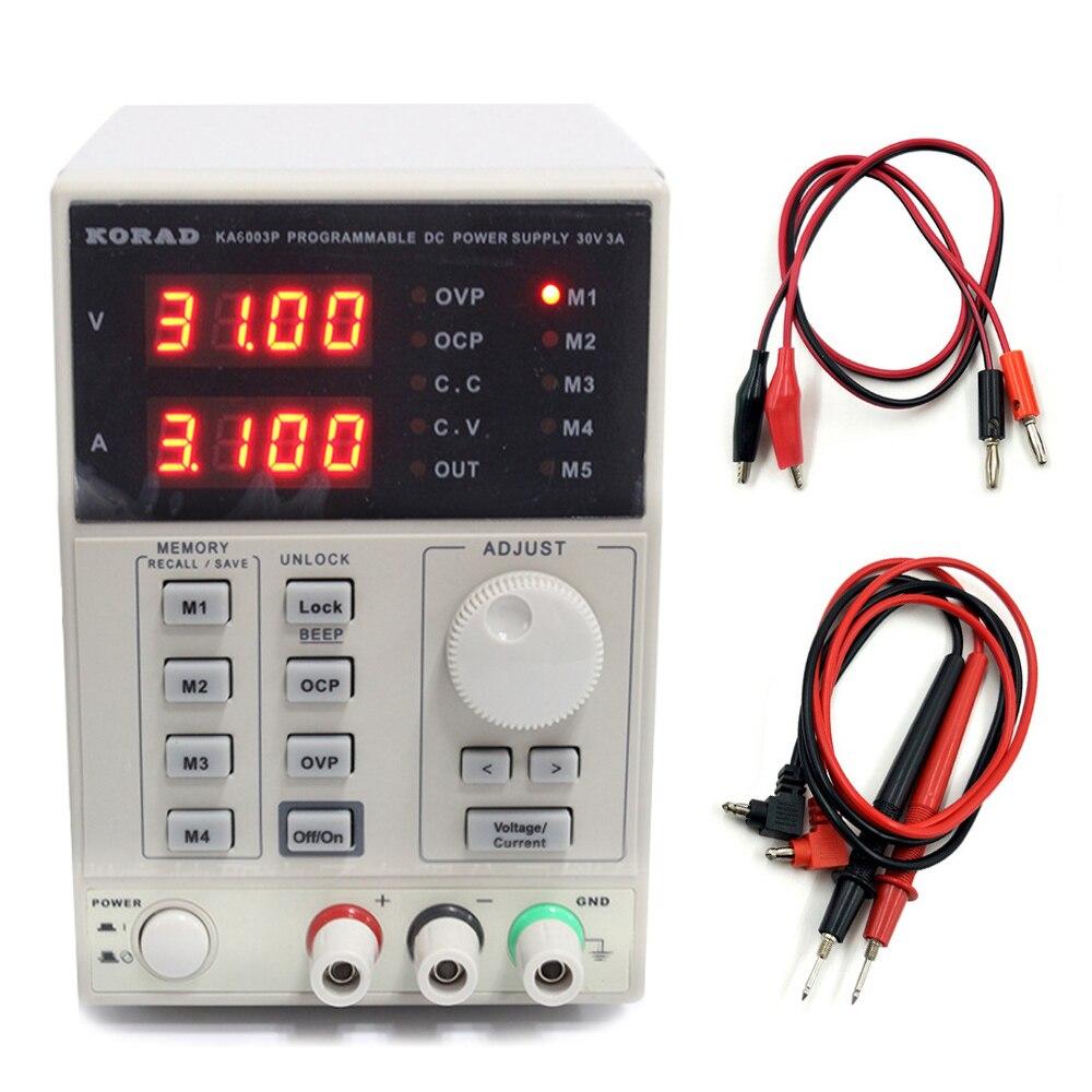 KORAD KA6003P Adjustable Programmable USB DC Regulated Power Supply 60V3A Digital linear laboratory power supply
