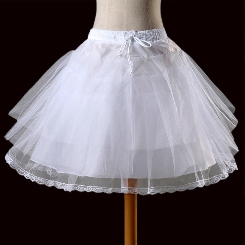 Livre Curto Organza Halloween Vestidos Underskirt Saia Crinolina Casamento Petticoat Nupcial para o Casamento Do Vintage Rockabilly Tutu