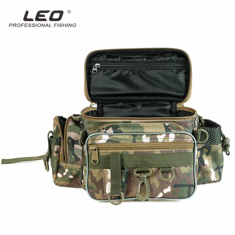 Multi-functional Fishing Bag Fishing Tackle Reel Storage Case Waist Shoulder Bag