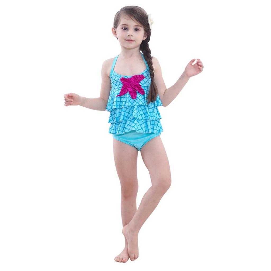 ARLONEET, 2019, último Bikini, traje de baño para niña, traje de baño para niños, traje de baño Sexy, Bikini, traje de baño Floral para niños