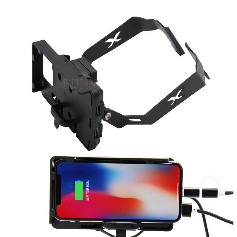 Delantero de la motocicleta soporte de Smartphone para HONDA X-ADV 750 XADV XADV750 GPS Bar soporte para teléfono móvil GPS
