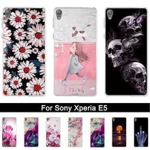 Case for Sony Xperia E5 F3313 F3311 Back Silicone Phone Cover for Sony Xperia E 5 Soft TPU 3D Shells for sony xperia e5 Fundas