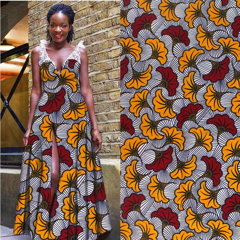 High Quality African Wax Prints Fabric Wax cotton Wax Fabric African Print Fabric Nigerian African Ankara Fabric H1811