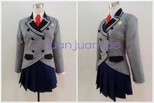 Un monde ennuyeux où le Concept de blagues sales nexiste pas SOX Ayame Kajou Anna Nishikinomiya uniforme scolaire Costume Cosplay