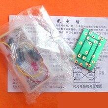 Free Shipping!!! Flash circuit kit / multi-resonant circuit / electronic production kit DIY (parts)