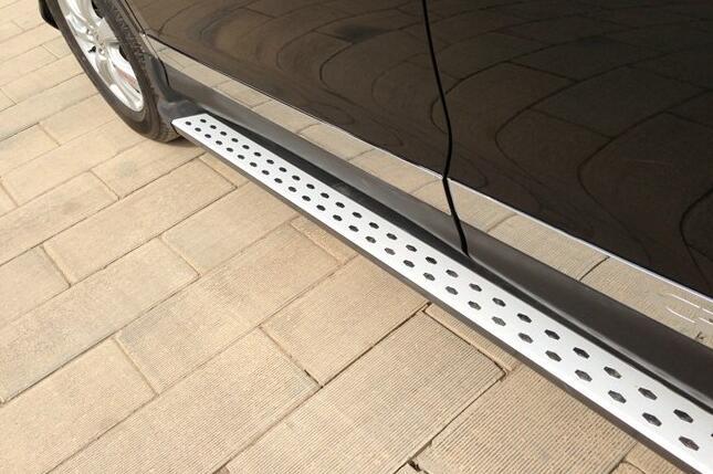 Cromo porta lateral corpo moldagem mouliding trims 6 peças para honda CR-V crv 2012 2013