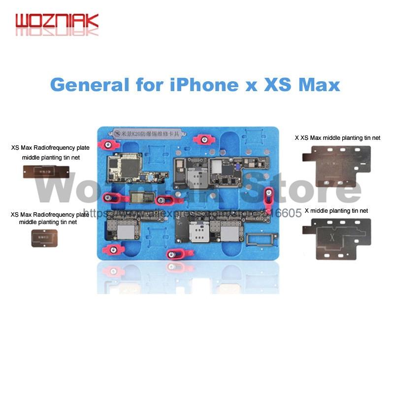 Wozniak K20 Multifunctional motherboard Repair fixture For iPhone X/XS/XS MAX layered fixed Maintenance clamp platform