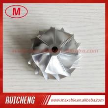 RHF5HB 46.50/59.94mm 7+7 blades performance turb Billet/milling/aluminum 2024 compressor wheel for VF30/VF34/VF35/VF36/VF37/VF39