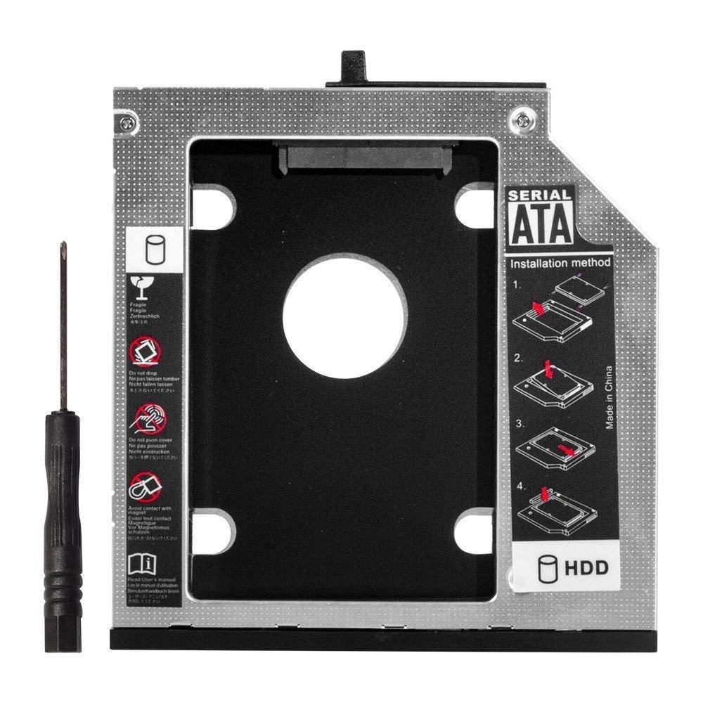 12,7mm 2nd HDD SSD bandeja de Caddy de repuesto para Lenovo Thinkpad T420 T430 T510 T520 T530 W510 W520 W520 W530