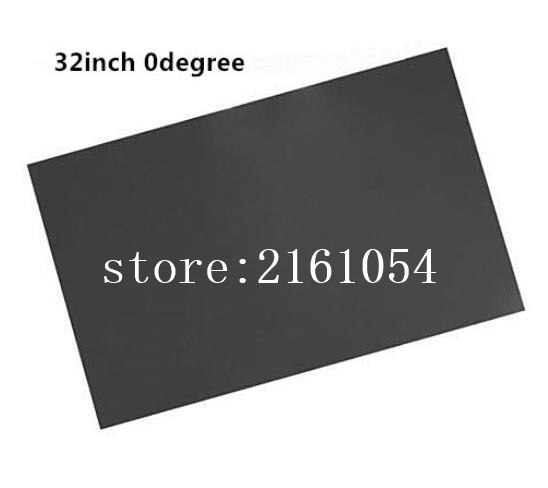50pcs 32inch Wide lcd polarizer film sheet for 32 inch wide screen,0 degree glossy polarizing film