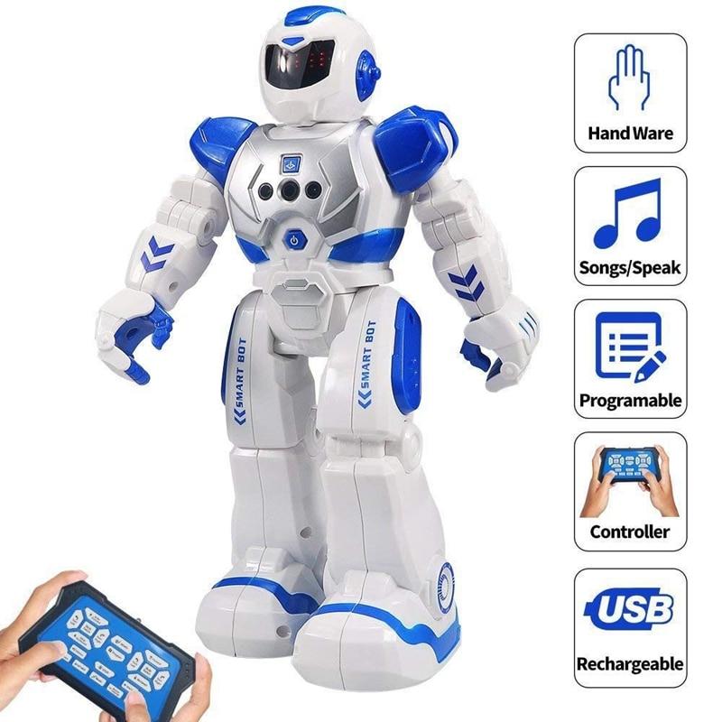 Size 26CM RC Remote Control Robot Smart Action Walk Sing Dance Action Figure Gesture Sensor Toys Gif