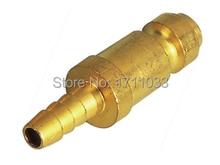 "1/4"" USA Truflate type brass air quick coupler, pneumatic quick coupling"