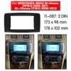 Fascia – panneau de Radio DVD et CD stéréo pour m-klasse W164 gl-klasse X164 Double Din tableau de bord 11-087 MERCEDES-BENZ