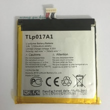 3.8V 1700mAh TLp017A1 / TLp017A2 Pour Alcatel OT-6012A OT-6012D OT-6012E OT-6012W OT-6012X TCL S530T Batterie