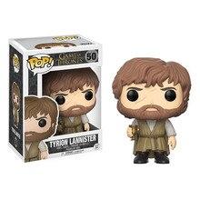 FUNKO Pop Game of Thrones 8 Tyrion Lannister & Brandon sur chaise figurine jouets jeu de trônes figurine Collection jouets chauds