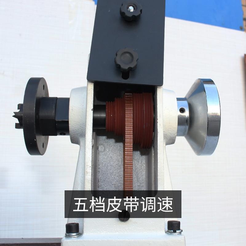 Small woodworking lathe Home multi-function mini lathe DIY Bead lathe wood bead ball speed machine enlarge