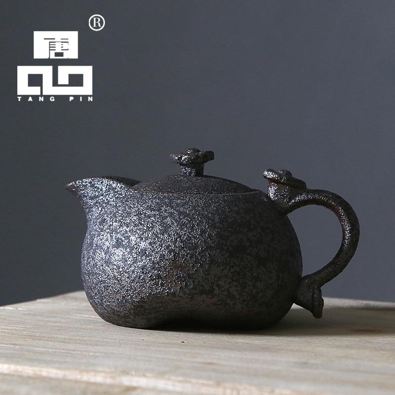 TANGPIN 2017 новое поступление керамический чайник с ржавчиной чайник чайный горшок китайский чайный набор кунг-фу посуда для напитков