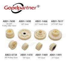 2X AB01-7690 AB01-1490 AB01-1466 AB01-7617 AB03-0734 AB01-1470 AB01-1469 de alimentación de papel equipo para Ricoh Aficio 1075 de 2075 de 7500