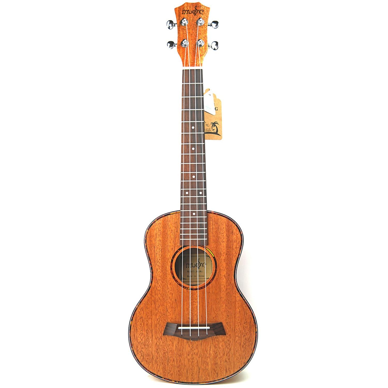 Ukelele de 23 pulgadas de concierto de 4 cuerdas de caoba rojo tortoishell Hawaii mini guita de viaje guitarra acústica Uke ukelele concierto