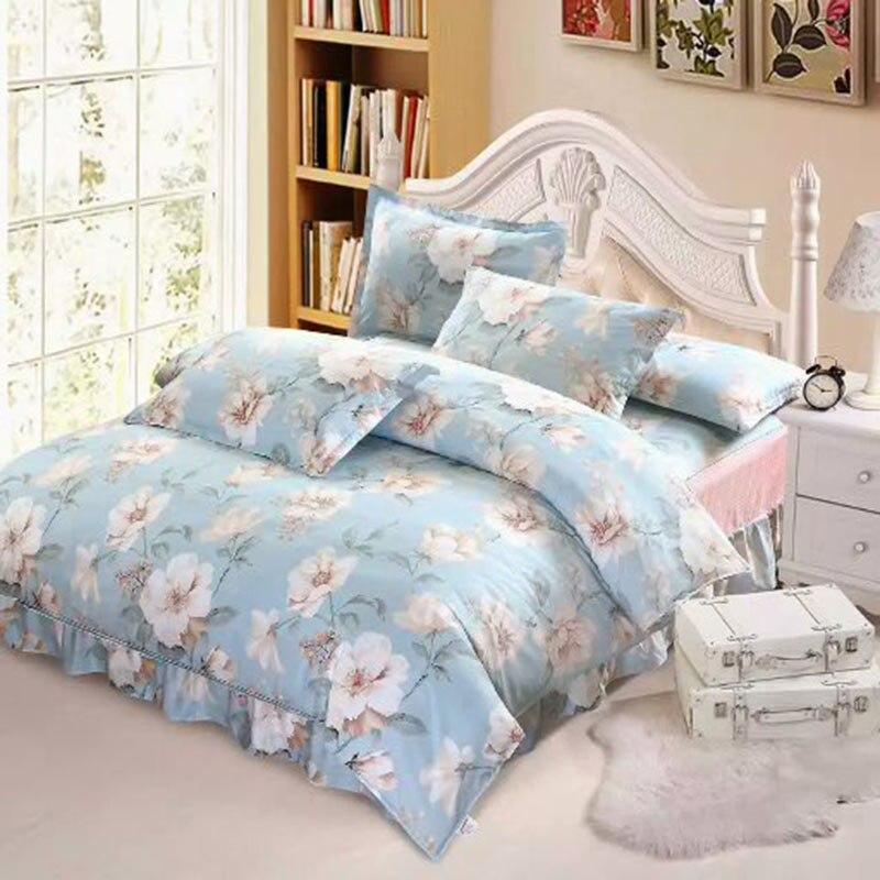 Nuevo tamaño personalizado 100% funda nórdica de algodón puro juego de ropa de cama calidad garantizada textil para el hogar doble cama King ropa de cama