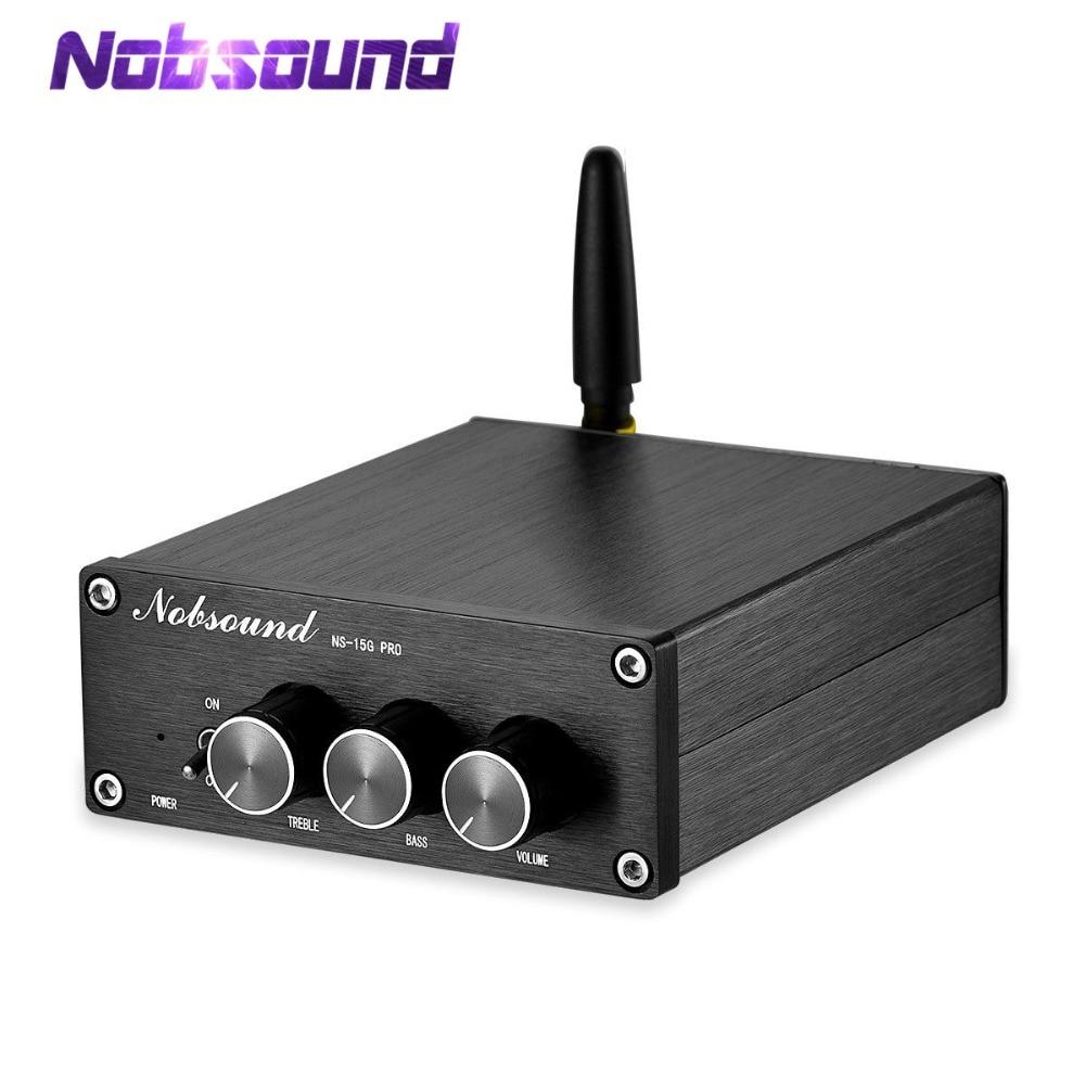 Nobsound Mini Bluetooth 5,0 TPA3116 Digitale Audio Verstärker HiFi Klasse D Stereo Power Amp PCM5102A Dekodierung DAC 100W * 2