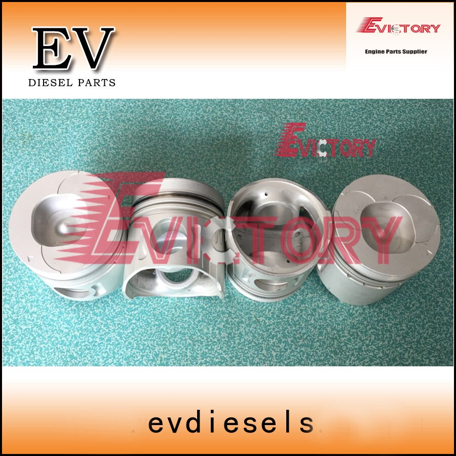For Isuzu engine rebuild 4BD1 4BD1T piston with piston pin clip
