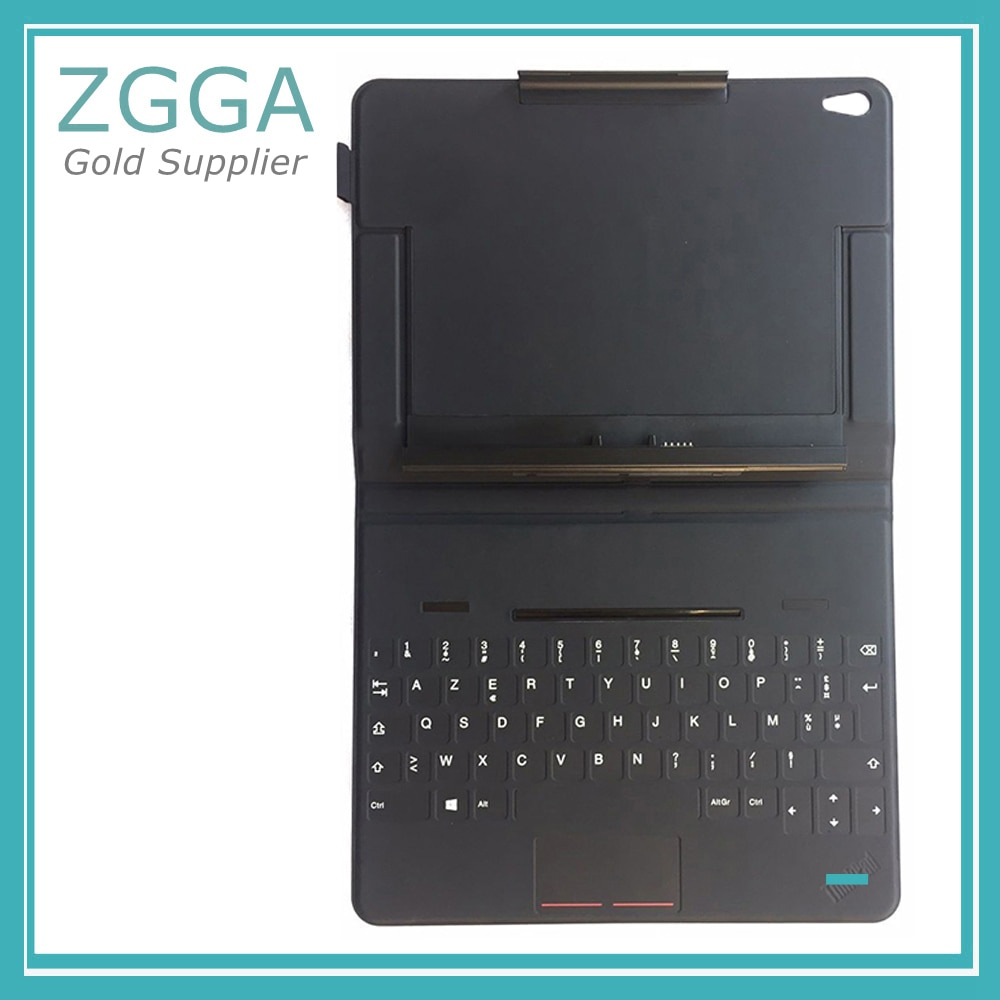 Genuino nuevo para Lenovo ThinkPad 10 Tablet Touch teclado Funda de cuero Inglés US JP EU 03X9068 03X9051 03X9045 03X9064 03X9061