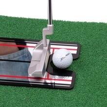 Golf Swing prosto praktyka automat treningowy do golfa lustro trening wyrównujący pomoc trening swingu golfowego linia oczu akcesoria do golfa 32x14.5cm