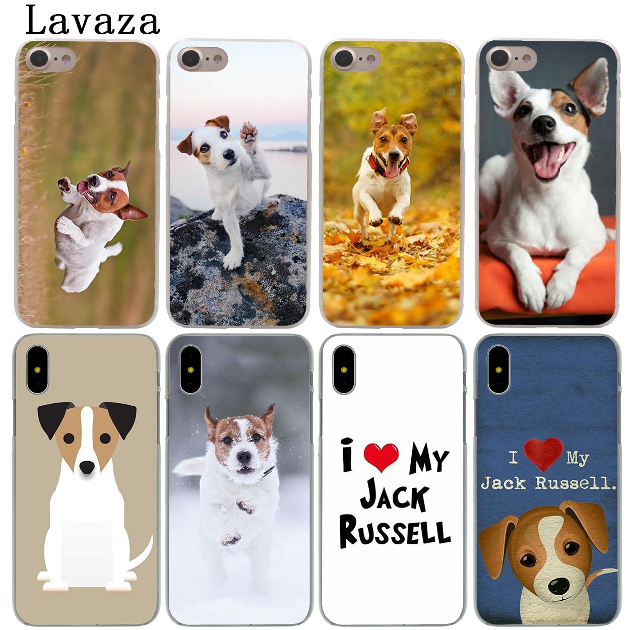 Твердый чехол для телефона Lavaza Jack Russell Terrier Dog Для iPhone XR X 11 Pro XS Max 7 8 6 6S 5 5S SE 4S 4 10