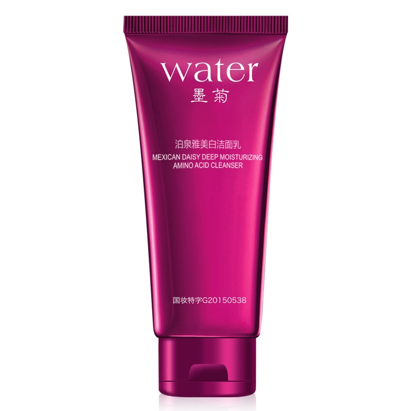 BIOAQUA wybielanie płyn do demakijażu pielęgnacja twarzy kwas oczyszczający oleje urządzenie do usuwania trądziku zaskórnika skóry Lotion do pielęgnacji 100g