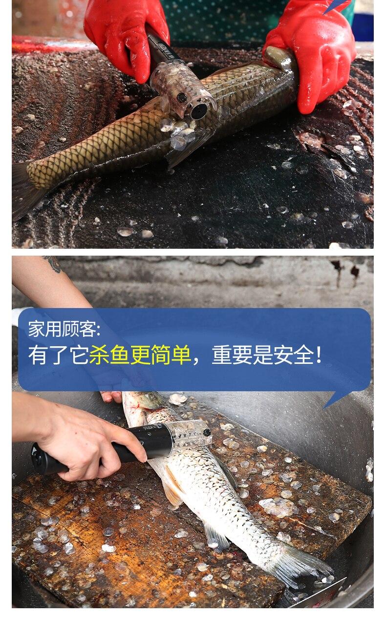 Báscula de pescado TIMEMORE, báscula de pescado eléctrica automática, raspador de cepillado, báscula de pescado, herramienta de fabricación