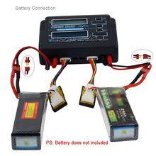 HTRC C240 DUO AC 150W DC 240W double canal 10A RC Balance lipo chargeur de batterie pour RC modèle jouets