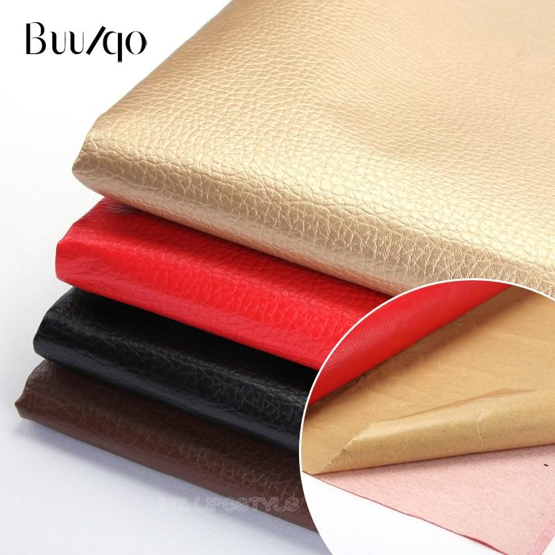 Buulqo couro tecido sofá adesivo casca pós reparação interior do carro remendos de couro de pano macio pacote volta cola couro