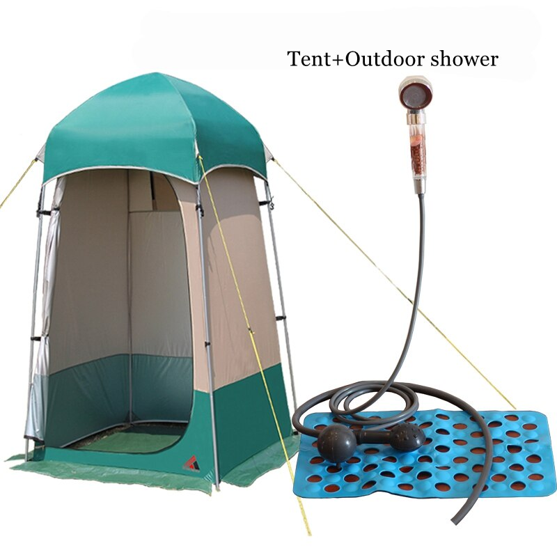VANQUISHER, alta calidad, carpa de ducha fuerte para exteriores, inodoro, tienda de vestidor para vestuario, tienda de sombrilla de pesca de WC móvil para exterior